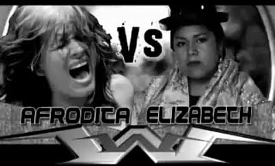 Elizabeth Wrestling Afrodita - Colombian Wrestling Superstars