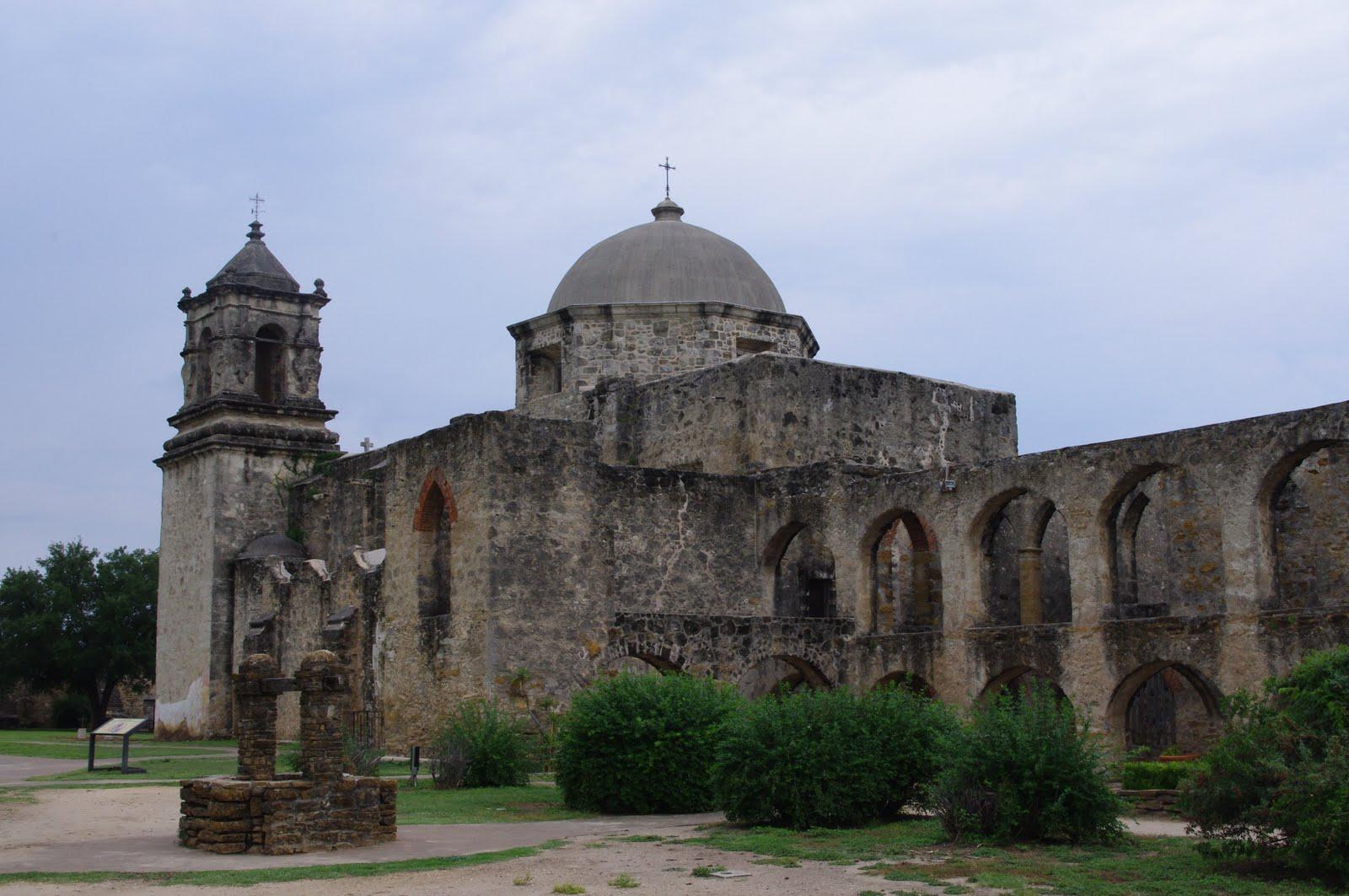 Tranters Travels San Antonio Spanish Missions