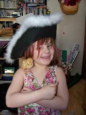 Pirate Princess Peeka with her Peep