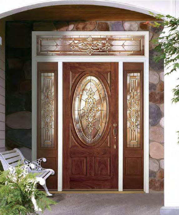 Fiberglass doors home depot door design pictures for Front house doors with glass