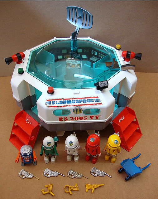 Estoy indignado con los cabrones de playmobil p gina 9 for Nave espacial playmobil
