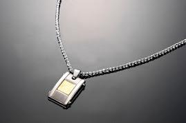 Titanium health necklet