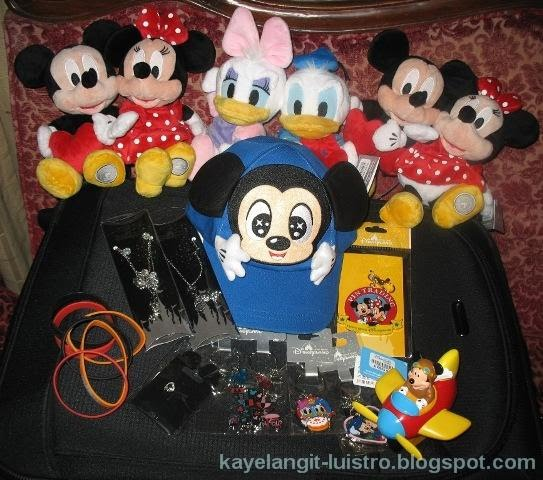 souvenirs from Hong Kong Disneyland