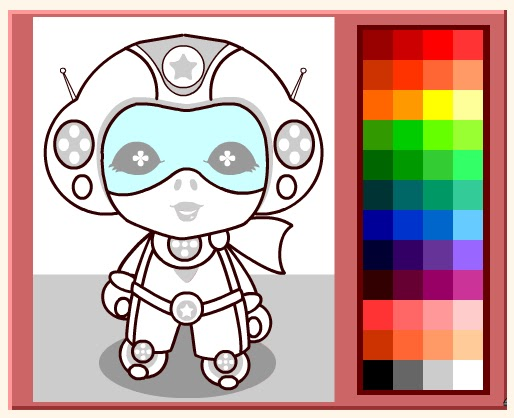 Free Coloring Pages Online Coloring Games