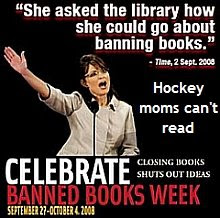 Sarah Palin tries to ban books in the library