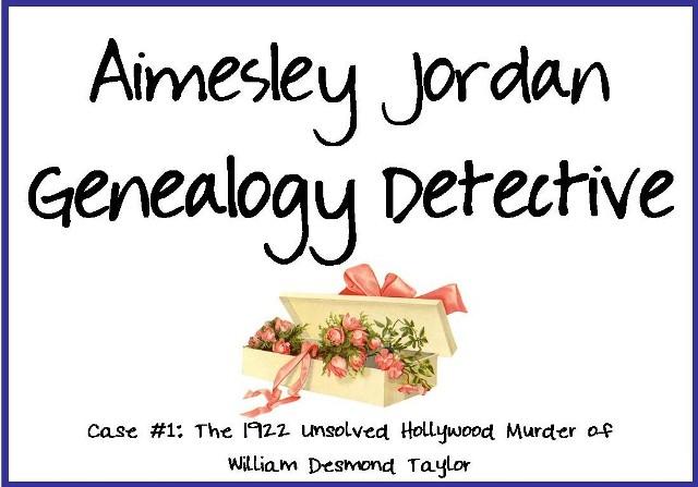 Aimesley Jordan, Genealogy Detective