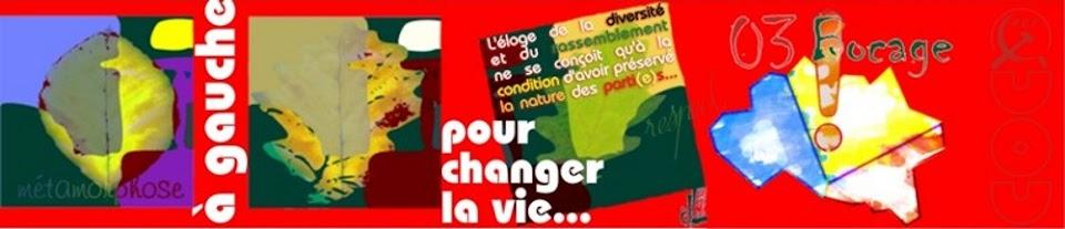 à gauche pour changer la vie !