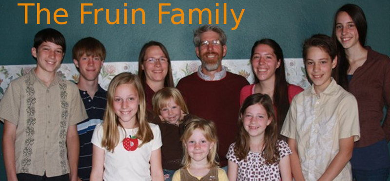 The Fruin Family Blog