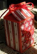 Рождественская коробочка для подарков