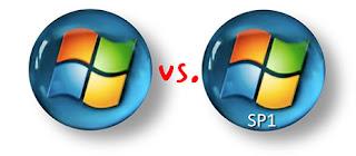 Microsoft Vista vs Microsoft Vista SP1