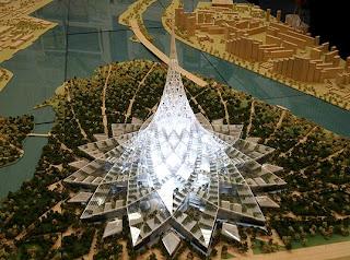 Crystal island world's biggest building