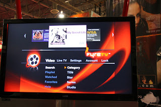 Fyre TV Screen demo