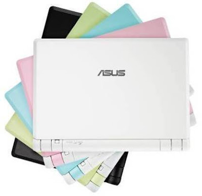 Asus Eee 4GB Finally in Five Colors
