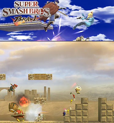 Super smash bros gameplay footage