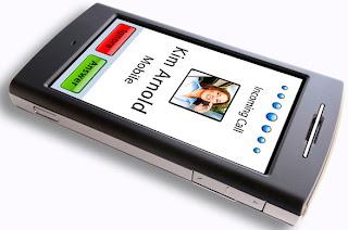 Garmin nuvifone GSM HSDPA smartphone demo