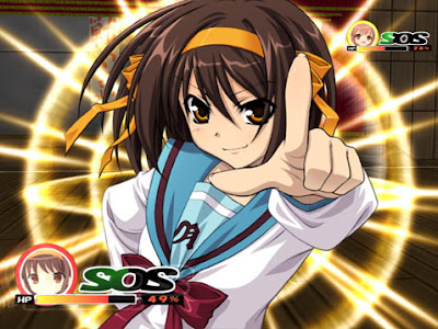 Haruhi Suzumiya Game