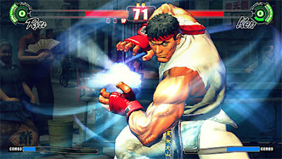 Street Fighter IV- Ryu with Super Fireball