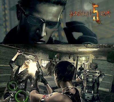 Resident Evil 5's Xbox 360 snapshot