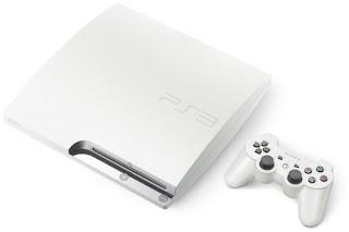 Classic White PS3 Slim