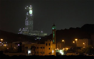 World Largest Clock at Mecca, Saudi Arabia