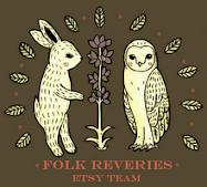 I'm a Proud Team Member of Etsy's Folk Reveries!