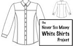 """The Never too Many White Shirts Project"""