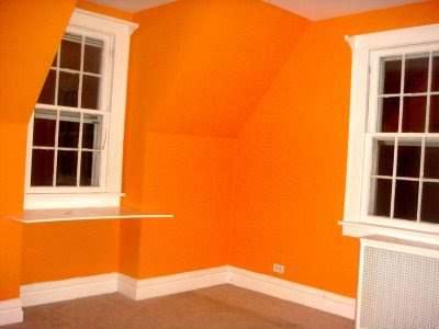 Orange bedroom ideas on decorate your rooms with the color - Interior orange paint colors ...