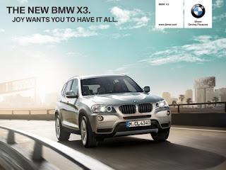 Conduire BMW X3 sur votre iPad