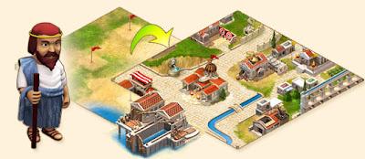 阿布洛格 Ikariam 城鎮發展