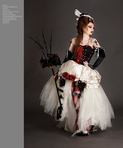 Gothic Red and Black Wedding Dresses Red Wedding Dresses Red and Black