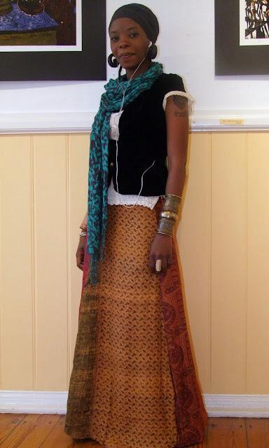 african street style, namibia, boho fashion