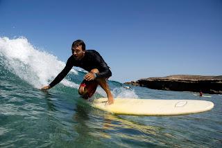 Nick Moffatt Surfing