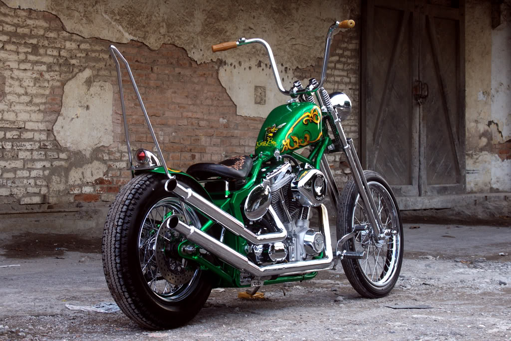 King Bee Chopper : Retro Classic Cycle   kakimoto