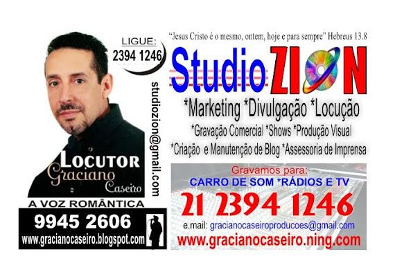 Gravação Profissional para Rádios e TV