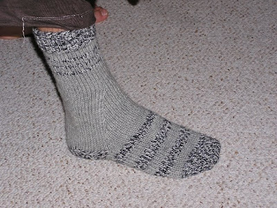 picture of grey sock