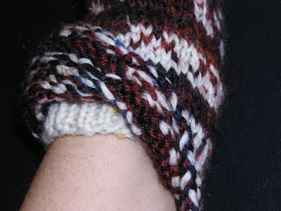 mitten picture showing cuff