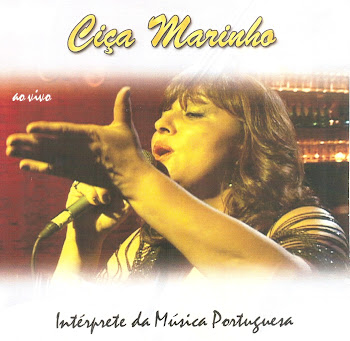 Capa do cd Ciça Marinho  ...ao vivo