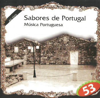 Capa do cd Sabores de Portugal
