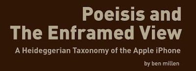 Poeisis and the Enframed View