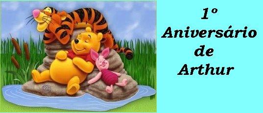 1º Aniversário de Arthur