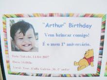 O convite da minha festa