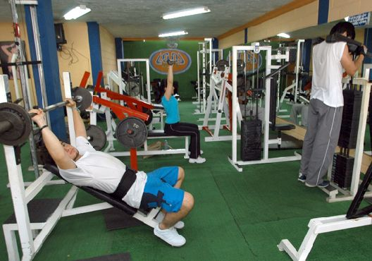Deportes upa for Gimnasio pacific