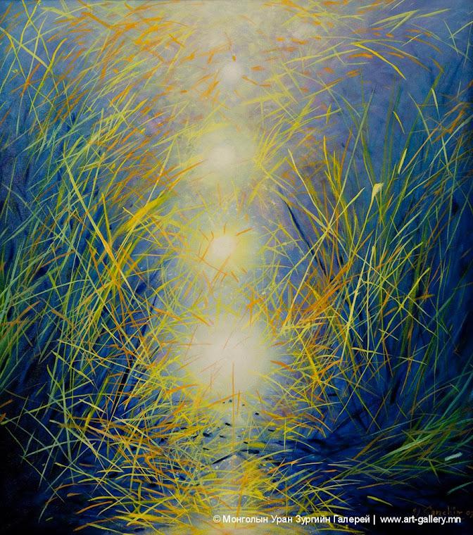 Зураач Санчирын Талын гэрэл бүтээл