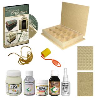 Novidade em Kits de artesanato