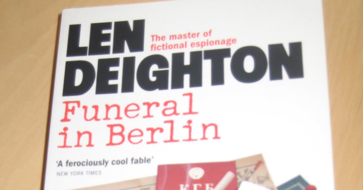 Design Len Berlin the deighton dossier the reissues 8 funeral in berlin