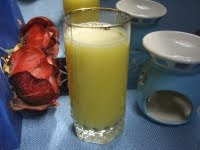 zumo de jengibre