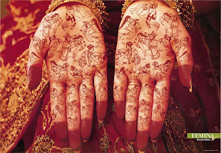 Mehndi in Hands