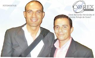 ¿Será Bernardo Hernández el próximo fichaje de Corex?