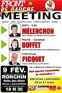 Meeting Front de gauche 09/02/2011
