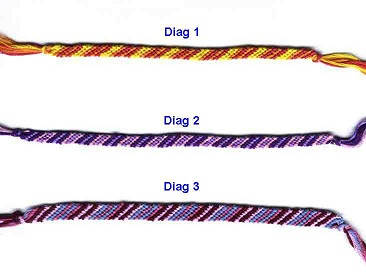basic friendship bracelet instructions